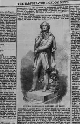 Statue of Mendelssohn