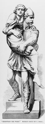 Statue of Hereward the Wake