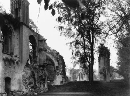 Glastonbury Abbey;Abbey Church;Lady Chapel