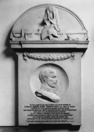Monument to Charles Edward Henry Tempest-Hicks