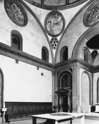 Brunelleschi Old Sacristy San Lorenzo;Chu...