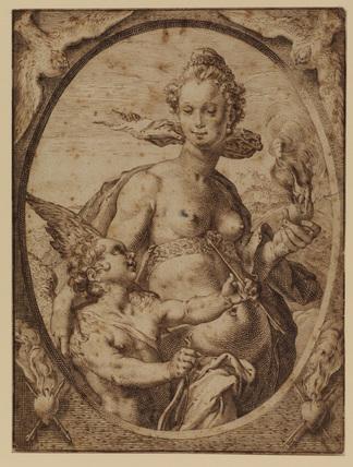 Venus and Cupid