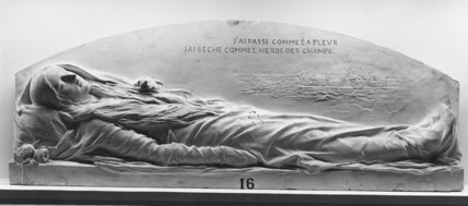 Plaster Model for the Monument to Mlle Labiche