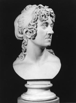 Bust of Baroness Jacoba Elisabeth Schubart