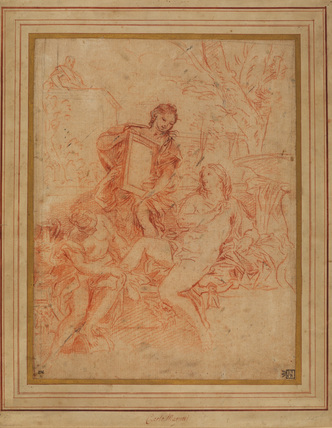 Study for 'The Toilet of Betsheba' (Liechtenstein, Vienna)