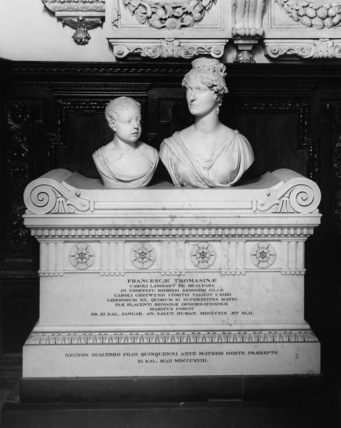 Saint Mary's Church;Monument to Francesca Tomasine, Countess Talbot and her son