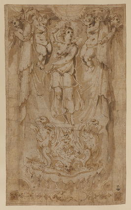 Design for decorative panel or tapestry