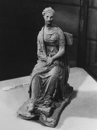 Sketch for a statue of Letizia Ramolino Bonaparte