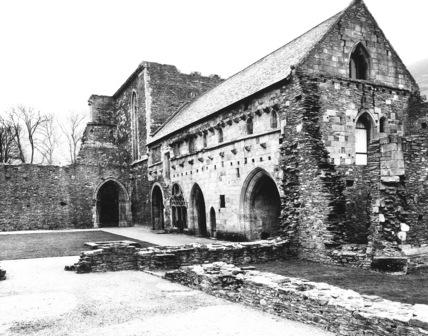 Valle Crucis Abbey;Cloister