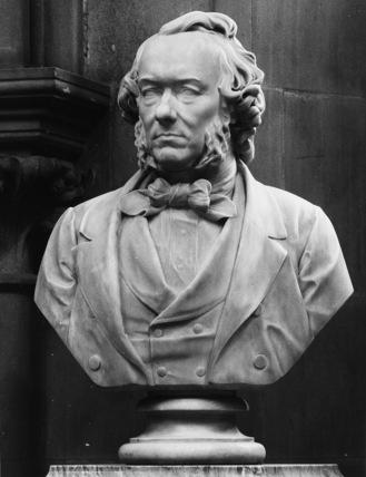 Bust of Richard Cobden