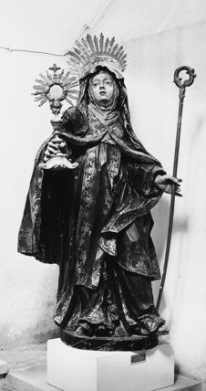 Statue of Saint Clara