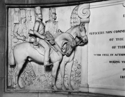 St Paul's Cathedral;Cavalry Division Crimean War Memorial