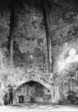 Glastonbury Abbey;Abbot's Kitchen