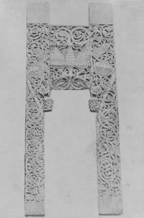 Portal from Tufte Church, now in Historish Museum