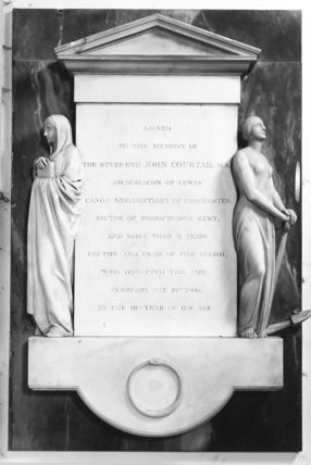 Monument to The Revd. John Courtail