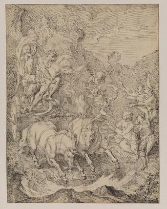 Rape of Proserpina (recto)