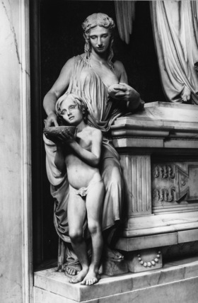 San Lorenzo;Monument to Berta Moltke Ferrari Corbelli