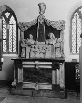 St Andrew;Monument to Henry, Earl of Thomond