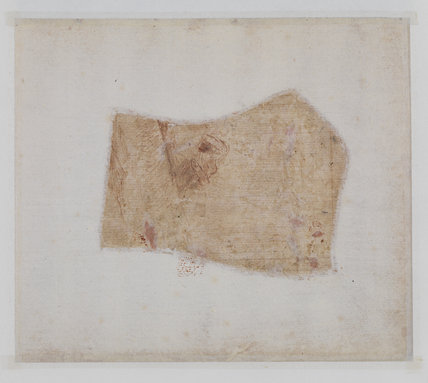 Study of a hand (verso)