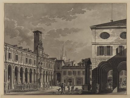 Italian piazza - Modena (?)
