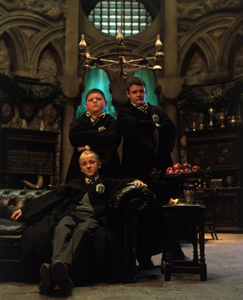 Draco Malfoy, Crabbe & Goyle