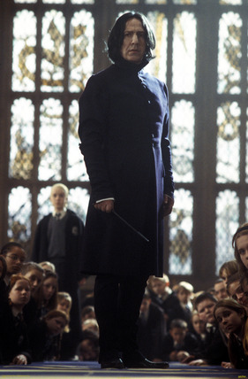 Prof. Snape in duelling club