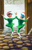 Skipping elves