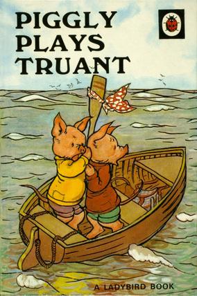 Piggly Plays Truant