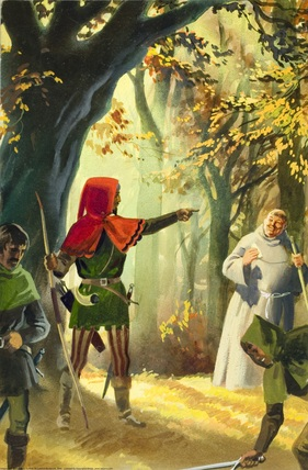 Robin Hood sent Friar Tuck