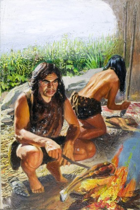 paleolithic age fire - photo #23
