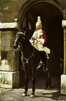 A Life Guardsman in Whitehall