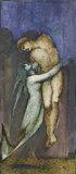 A Mermaid holding a nude Male Figure