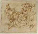 Pietà: Composition of ten Figures