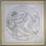 Eurydice dying in Orpheus' Arms