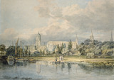 View of Christ Church from the Meadows