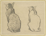 Two Studies of a Cat