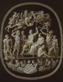 The 'Apotheosis of Germanicus': copy after an antique Cameo ( The 'Gemma Tiberiana')