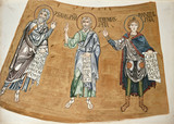 The Prophets Isaiah, Jeremiah, and Daniel: From the Mosaics of the Altar-vault of St Mark's, Venice