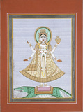 The goddess Ganga