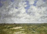 Berck, cloudy Landscape