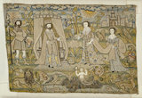 "Embroidered picture: ""The Proclamation of Solomon"