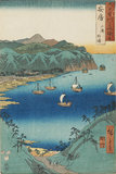 Woodblock print - Uchiura, Kominato in Awa Province (Awa Kominato Uchiura) No 18