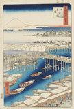 Clearing After Snow at Nihonbashi Bridge
