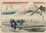 Hara, Fuji in the Morning