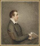 Portrait of John Cam Hobhouse, 1st Baron Broughton,