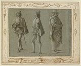 Recto: Sheet of Figure Studies Verso: Sheet of Figure Studies