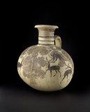 Bichrome IV barrel-shaped Cypro-Phoenician jug