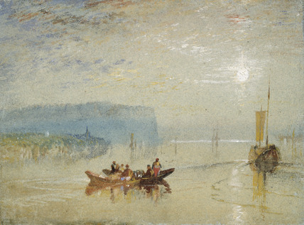 Scene on the Loire, near the Coteaux de Mauves