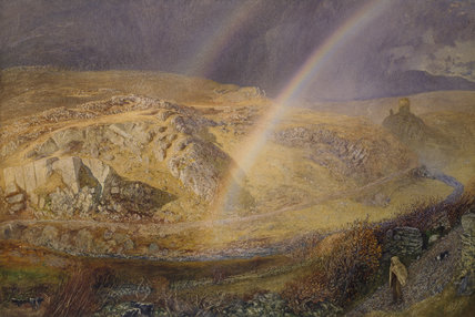 A November Rainbow, Dolwyddelan Valley, November 11, 1866, 1 p.m.