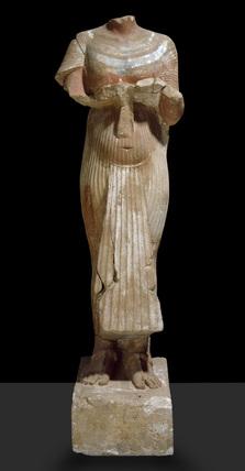 Akhenaten statue, headless